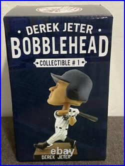 Yankees Derek Jeter Bobblehead #1 7/8/13 2013 Collectible Series Mint/Rare NIB
