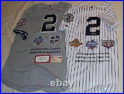 Yankees Derek Jeter Signed Autographed 5x World Series Champions Jersey Set RARE